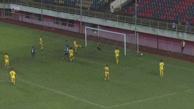 Veja os gols de Galvez 1 x 2 Palmeiras, pela 1ª fase da Copa do Brasil Sub-20