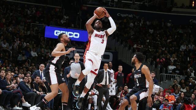 Melhores momentos: Miami Heat 113 x 108 Washington Wizards, pela NBA