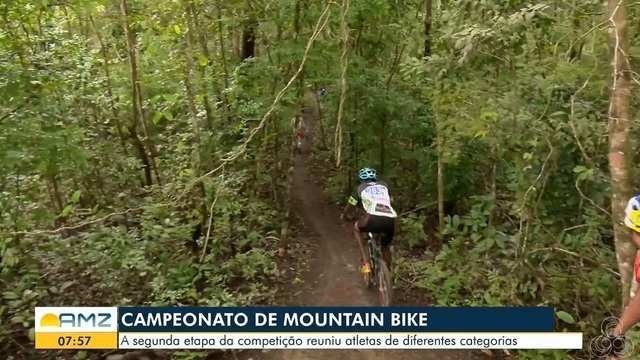 A 2º etapa do campeonato de Mountain Bike reuniu atletas de diferentes categorias