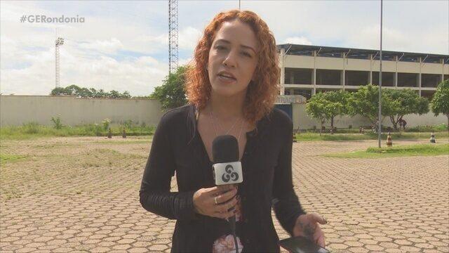 Estadio Biancão, em Ji-Paraná, tem fio de energia furtados