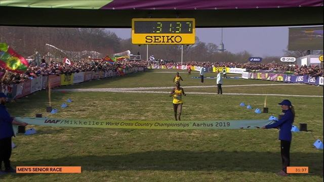 Joshua Kiprul Cheptegei vence prova sênior masculina do Mundial de Cross Country