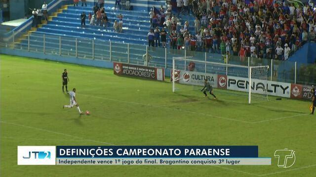 'Esporte no JT2': confira os resultados dos últimos jogos do Campeonato Paraense