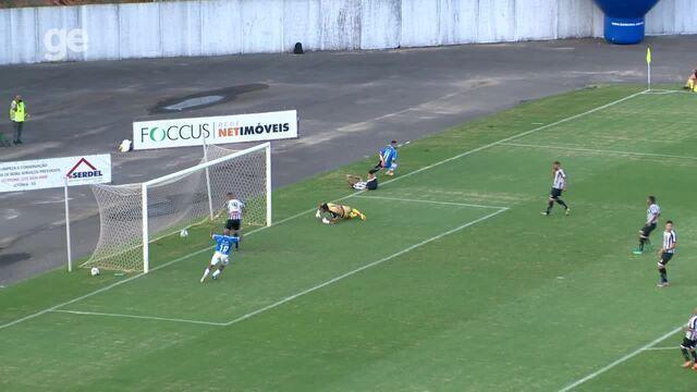 Os gols de Vitória-ES 2 x 0 Sobradinho, pela Série D do Campeonato Brasileiro 2019