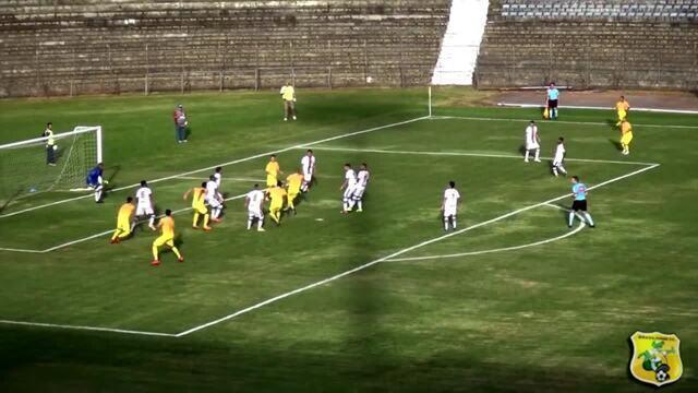 O gol de Brasiliense 1 x 0 Serra, pela Série D do Campeonato Brasileiro 2019