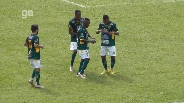 Confira os seis gols marcados pelo colombiano Batalla pelo XV de Jaú