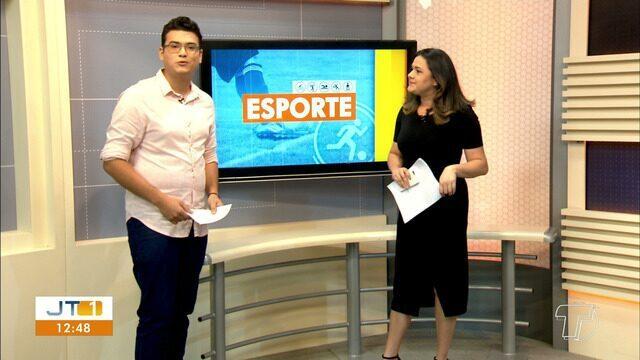 'Esporte': Veja as principais notícias do esporte no JT1 desta quinta-feira