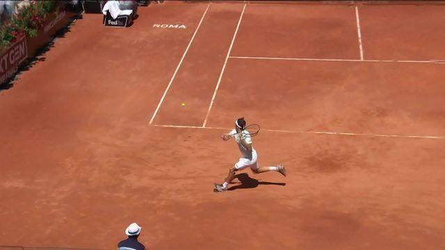 Veja os 5 melhores lances do Masters 1000 de Roma