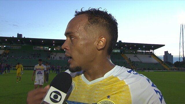 Bruno Pacheco lamenta derrota dentro de casa