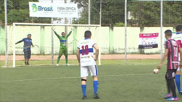 Atlético Acreano vence Santa Cruz e leva título da Copa Norte Futebol Society após placar