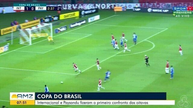 Internacional e Paysandu fizeram o primeiro confronto das oitavas pela Copa do Brasil