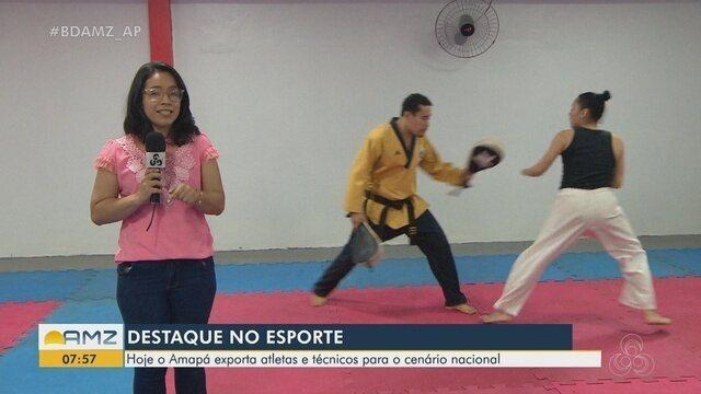 Amapá tem treinadores à frente de equipes nacionais no taekwondo e na lute olímpica
