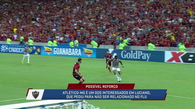 Mesa fala sobre uma possível transferência de Luciano para o Atlético-MG
