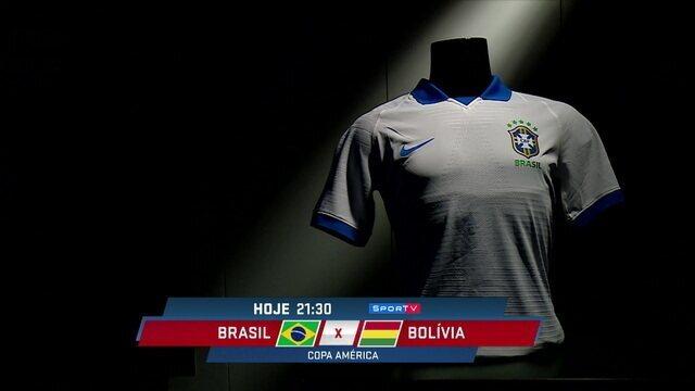 Loffredo comenta sobre a camisa branca que será usada pela Seleção Brasileira na estreia da Copa América