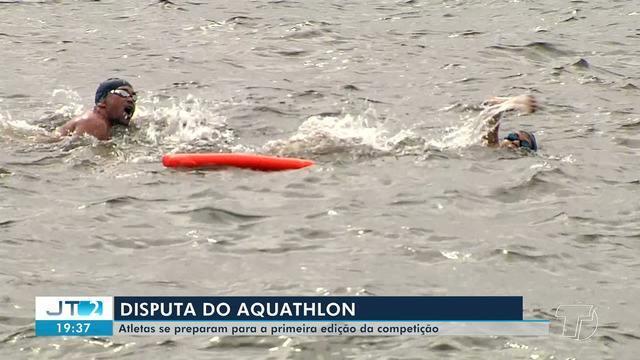 Atletas de várias idades intensificam treinos para disputar 1º Aquathlon em Santarém