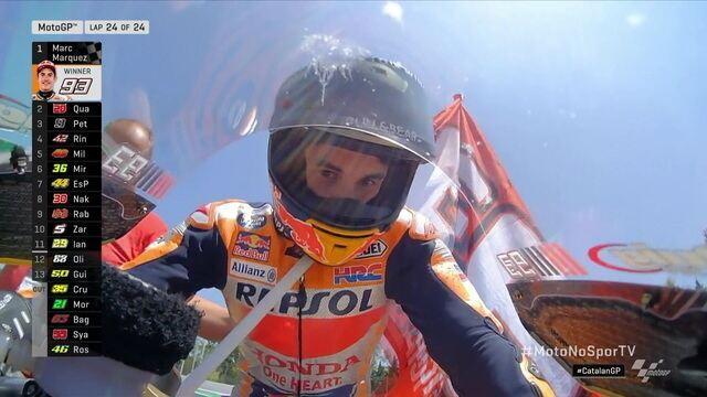 Marc Márquez vence a Moto GP