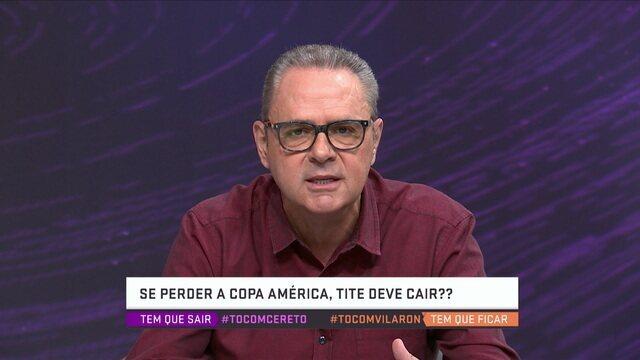"""Luis Roberto sobre Seleção Brasileira: """"Pela primeira vez estamos em uma competição oficial sem um craque"""""""