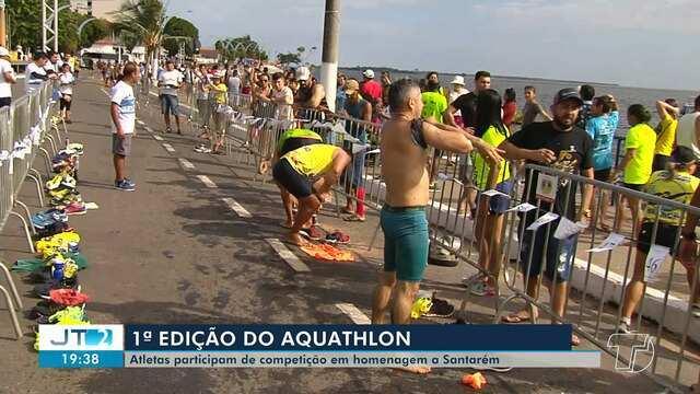 Primeira edição do aquathlon acontece em Santarém