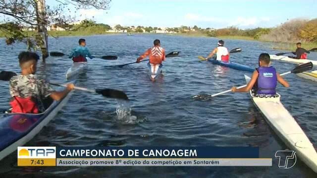 Ascae promove campeonato de Canoagem em Santarém