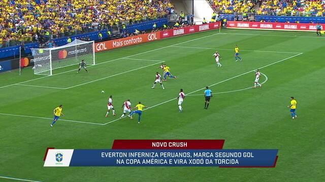 Para Paulo Nunes, Everton é o melhor jogador do Brasil do meio para frente