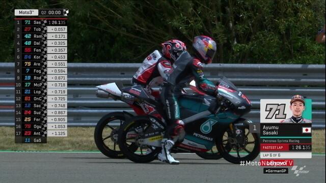 Ayumu Sasaki conquista pole da etapa da Alemanha de Moto3 no Mundial de Motovelocidade