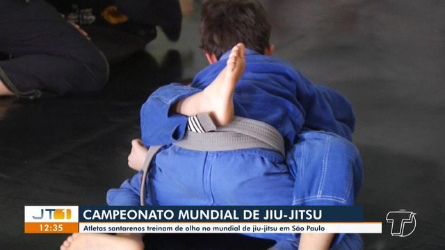 Atletas santarenos se preparam para disputar Campeonato Mundial de Jiu-jitsu em São Paulo