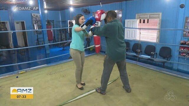 Ofertando aulas de boxe de graça há 15 anos, academia será beneficiada com evento da PM