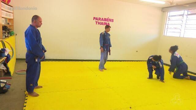 Amanda Arraes, judoca rondoniense, se prepara para evento na Alemanha