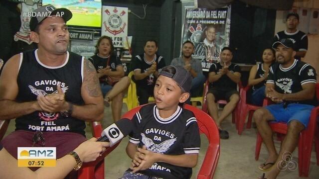 Torcida do Corinthians no Amapá completa 4 anos com presença de Marcelinho Carioca