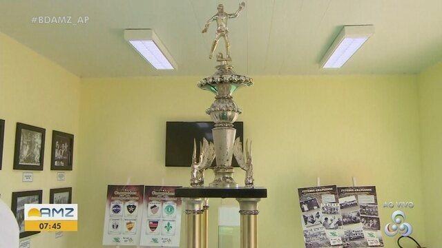 Museu no Estádio Zerão reúne fotos e objetos que marcaram a história do futebol no AP