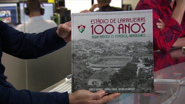 """Historiador lança livro em homenagem aos 100 anos do estádio das Laranjeiras: """"Primeira vez que pobre e rico se abraçaram"""""""