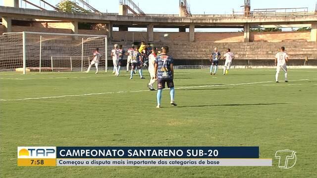 Começa o Campeonato Santareno Sub-20 com jogo entre Flamengo e América