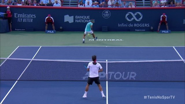 Nadal se defende, dá grand willy, mas Fognini vence pontaço no Masters 1000 de Montreal