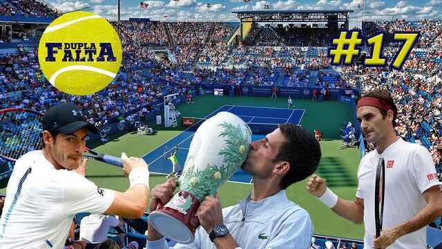 Dupla Falta #17: Djoko e Federer de volta em Cincinnati e os troféus mais feios do tênis