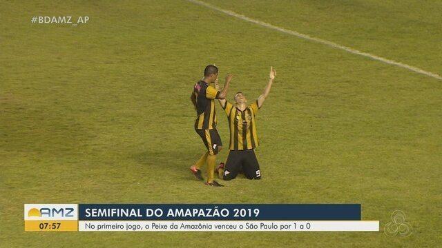 Santos-AP vence São Paulo-AP por 1 a 0 na semifinal do Amapazão