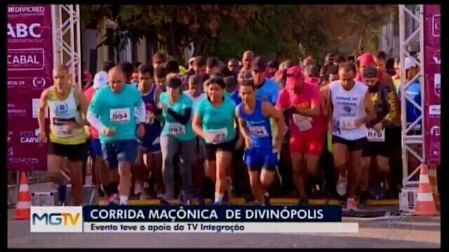 Corrida Maçônica reúne atletas profissionais e amadores em Divinópolis