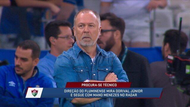 André Loffredo diz que Mano Menezes seria o melhor técnico para o Fluminense