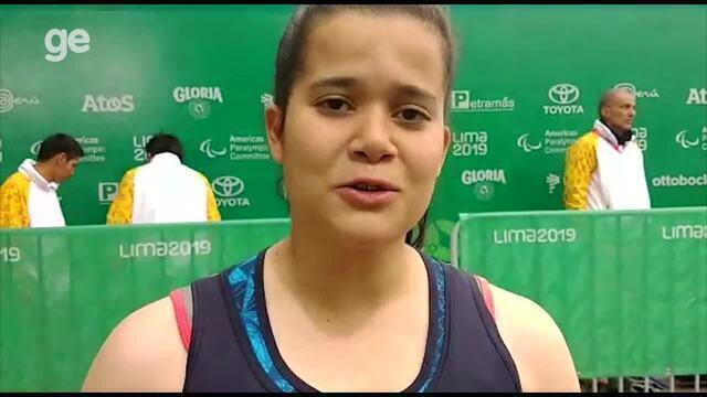 Verônica Hipólito fala sobre medalha no Parapan e manda recado sobre o meio-ambiente