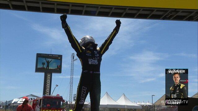 Anthoine Hubert vence 2ª corrida do GP da França da Fórmula 2