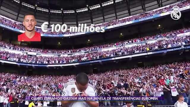 Clubes espanhóis gastam mais na janela de transferências europeia