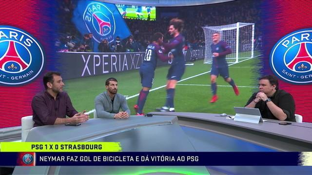 """Comentaristas debatem a atuação do Neymar no PSG: """"Esperamos muito do Neymar, mas sabemos um jogador sozinho não é nada"""""""