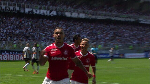 Os gols de Atlético-MG 1 x 3 Internacional pela 19º rodada do Campeonato Brasileiro