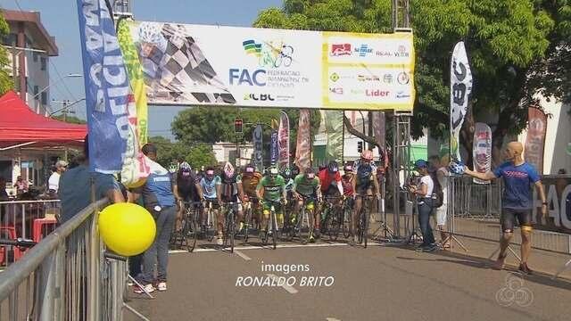 Dezenas de atletas participam do Open de Ciclismo, em Macapá