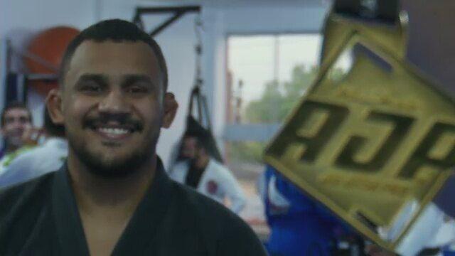 Wendell Barbosa conquista ouro no Abu Dhabi Pro International de Jiu-Jitsu, em Brasília