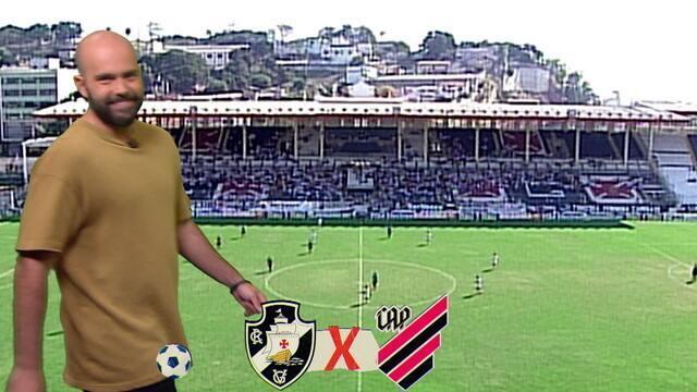 Classicão: Relembre os confrontos históricos entre Vasco e Athletico-PR