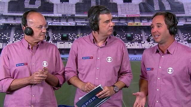 Rogério Correa, Lédio Carmona e Caio Ribeiro analisam vitória do São Paulo em cima do Botafogo