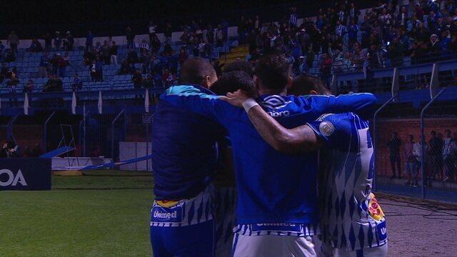O gol de Avaí 1 x 0 Atlético-MG pela 20ª rodada do Campeonato Brasileiro