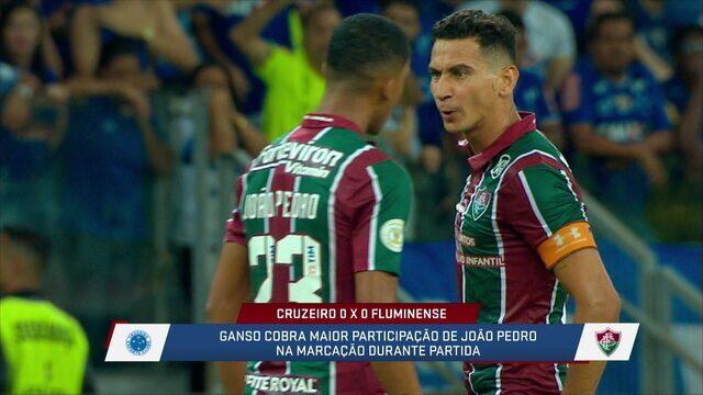 """André Loffredo fala sobre liderança de Paulo Henrique Ganso no Fluminense: """"É o dono do time, quem comanda"""""""