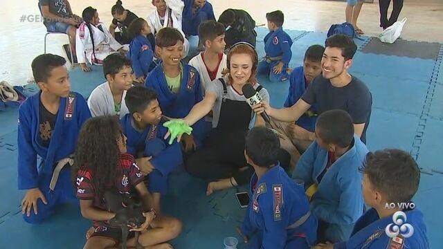 Terceira parte do Globo Esporte RO Especial de Dia das Crianças