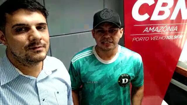 Entrevista com o jogador convocado pela Seleção Brasileira de FUT7