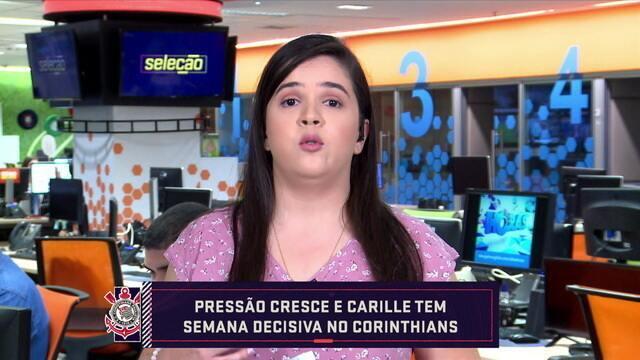 Pressão cresce e Carille tem semana decisiva no Corinthians